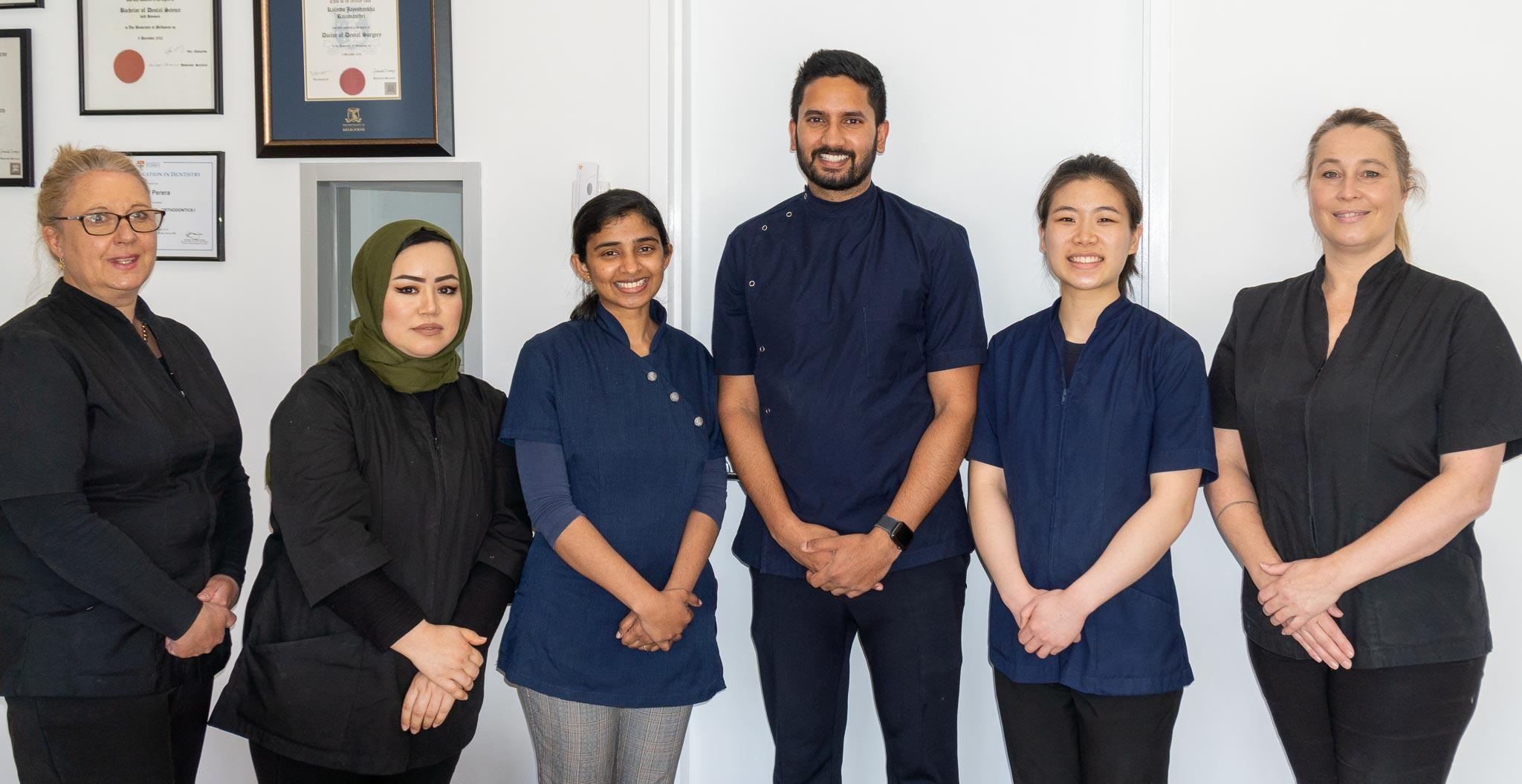 Mulgrave Dental Group team photo